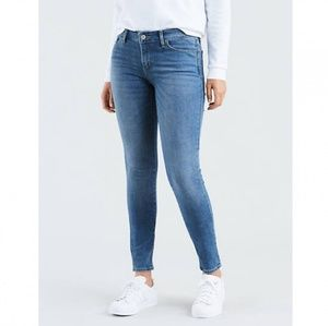Levi Strauss Mid Rise Skinny Jeans